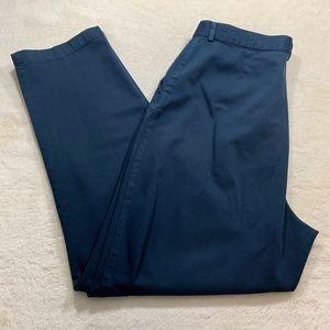 L.L. Bean | Navy Pleated Dress Pants